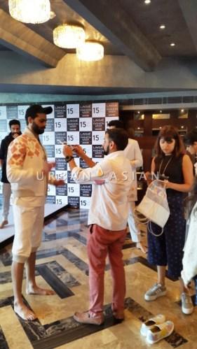Gen Next designer Manish Bansal at fittings - LFW SR 2015