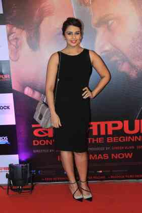 Huma Quereshi at the success bash of Badlapur at sofitel bandra (23)