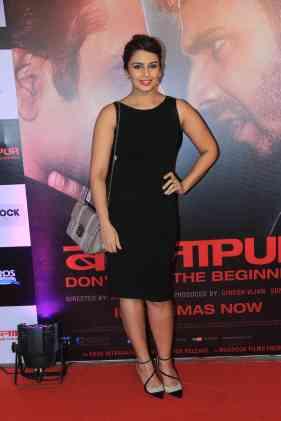 Huma Quereshi at the success bash of Badlapur at sofitel bandra (23)