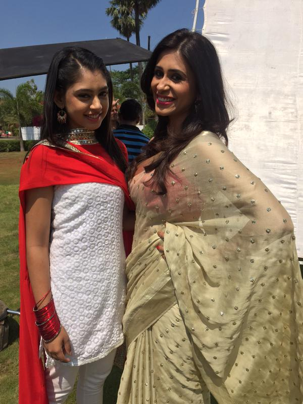 Niti Taylor and Kishwer Merchant