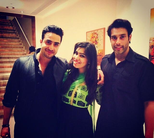 Aly Goni, Kanisha Malhotra and Sangram Singh
