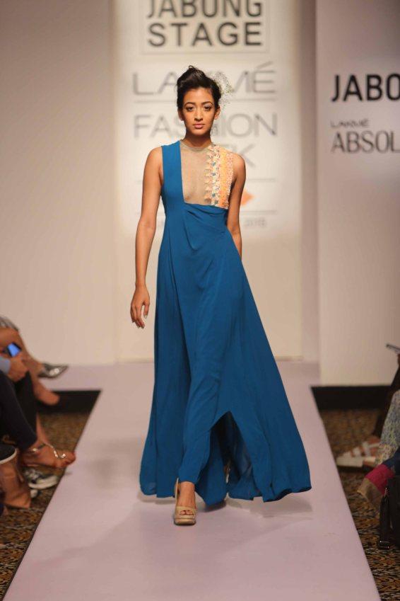 Madsam Tinzin at Lakme Fashion Week Summer Resort 2015 (6)