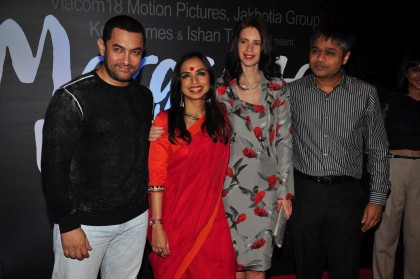 aamir khan, kalki koechlin, margarita with a straw launch
