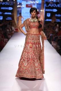 Nargis Fakhri for Suneet Varma at Lakme Fashion Week Summer Resort 2015 (44)
