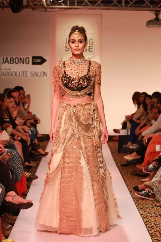 Vasundhara, lakme fashion week 2015