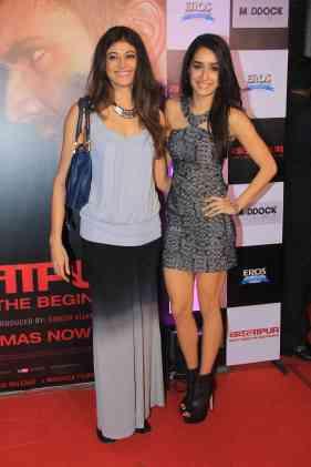 Pooja Batra and Shraddha Kapoor at the success bash of Badlapur at sofitel bandra (16)