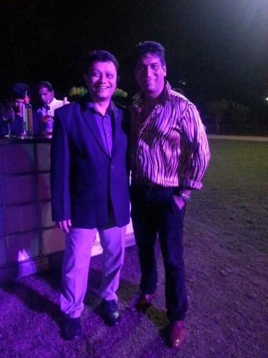 Satish Reddy with Jignesh Mehta