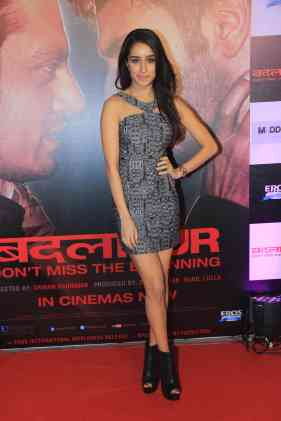 Shraddha Kapoor at the success bash of Badlapur at sofitel bandra (14)