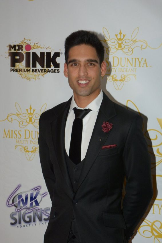 Siddharth Mallya attended the launch party of Miss Duniya Global Pageant 2015, Los Angeles, California