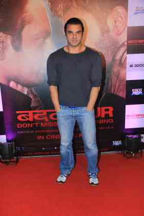 Sohail Khan at the success bash of Badlapur at sofitel bandra (25)