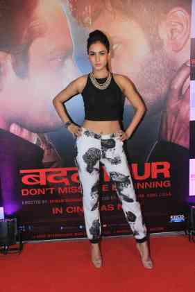 Sonal Chauhan at the success bash of Badlapur at sofitel bandra (22)