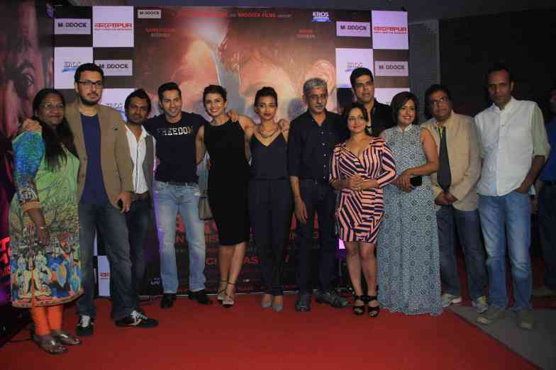 The entire cast at the success bash of Badlapur at sofitel bandra (28)
