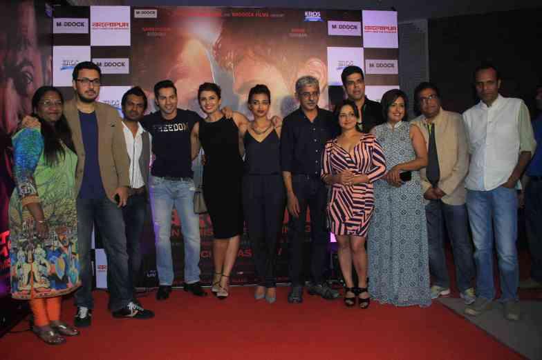 The entire cast at the success bash of Badlapur at sofitel bandra (28)