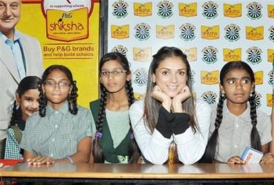 Aditi Rao Hydari promotes Education in her hometown