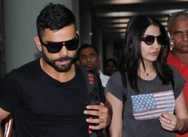 Anushka and Virat arrive at IPL