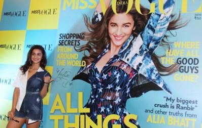 Alia bhatt miss vogue launch