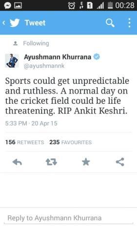 ayushman khurrana tweet