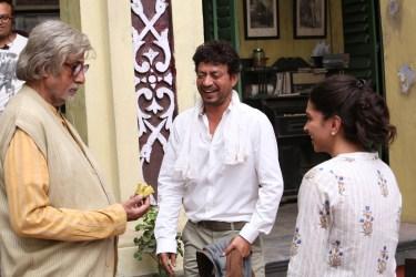 Irrfan, Amitabh and Deepika Padukone