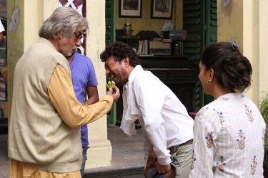Irrfan, Amitabh and Deepika