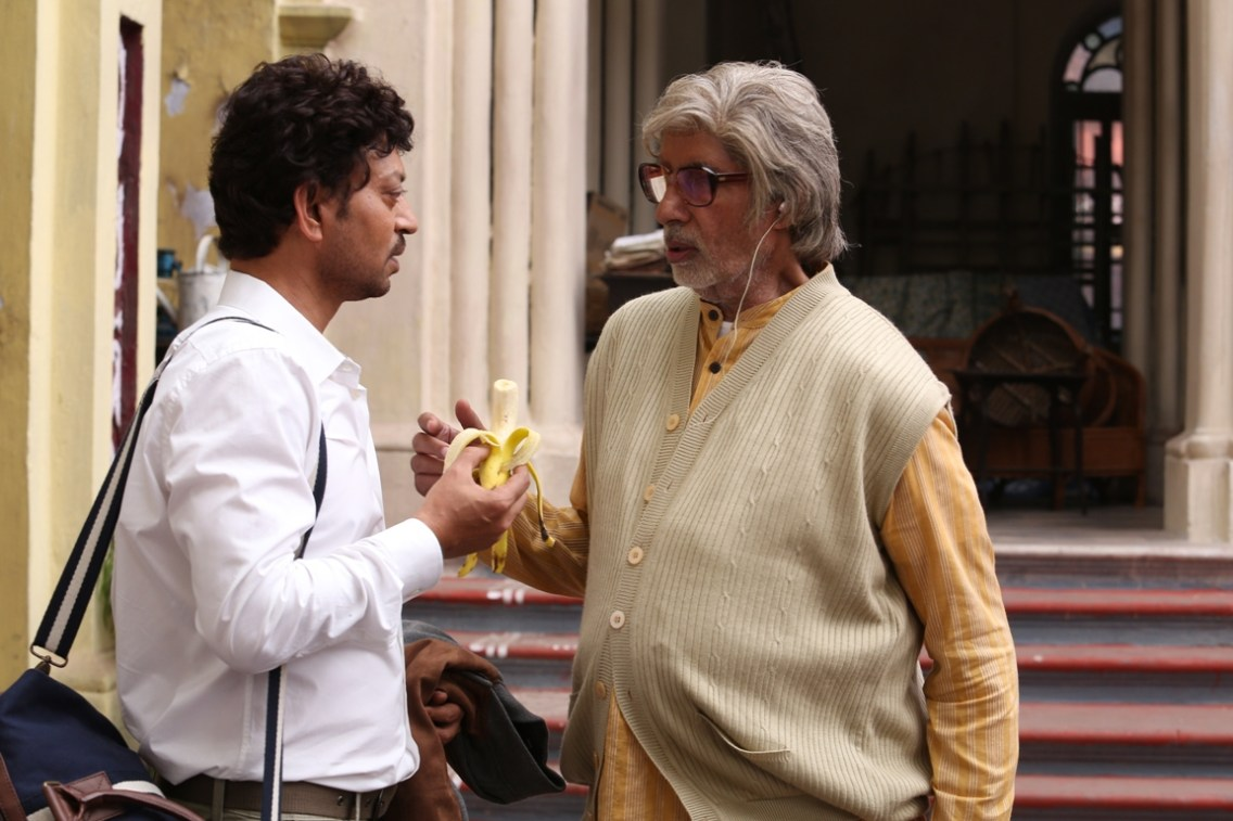 Irrfan Khan and Amitabh Bachchan