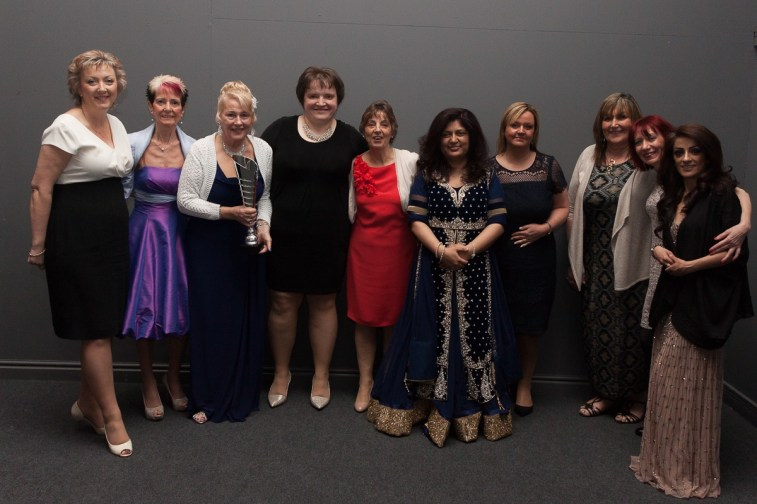 BIWA 2015 Founders Award, COO of BRI Helen Barker_ nurses and staff, Ward 27_ and nurses and staff at the Endocrine and Diabetes department.