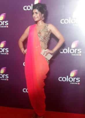 Sonali Raut at Colors TV