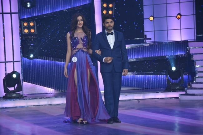 Aditi Arya and Gurmeet Choudhary