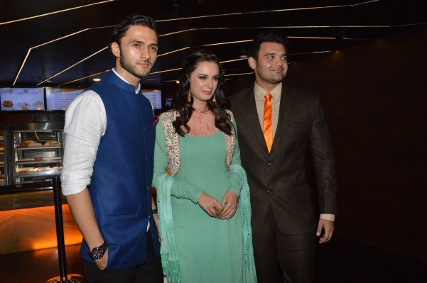 Mohit, Evelyn Sharma and Mahakshay Chakraborthy