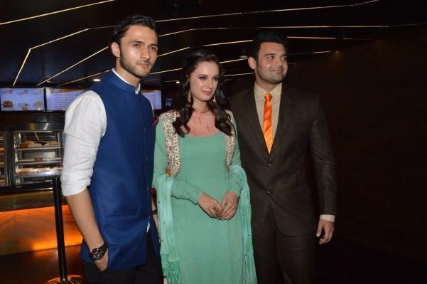 Mohit, Evelyn Sharma and Mahakshay Chakraborthy