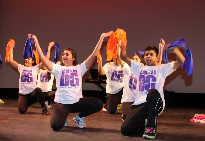 SHIAMAK Dance Team Performs at St. Jude