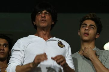 Shah Rukh and Aryan