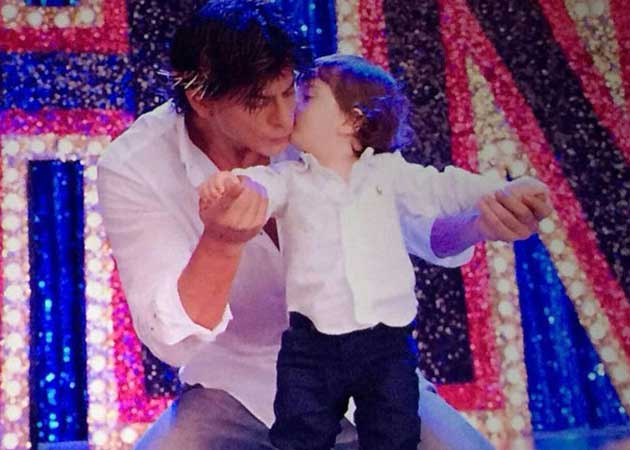 abram khan and dad