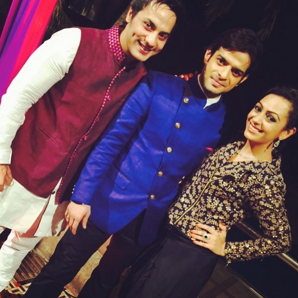 Karan, Shaliesh Gulabani and Ashita Dhawan Gulabani