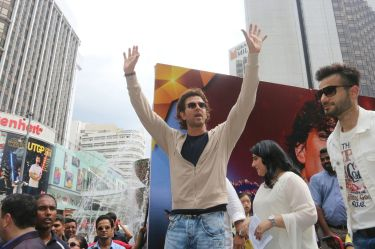 Hrithik Roshan at IIFA 2015 in Malaysia at the Pavalion Mall