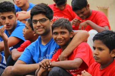 Volunteer Hursh Desai