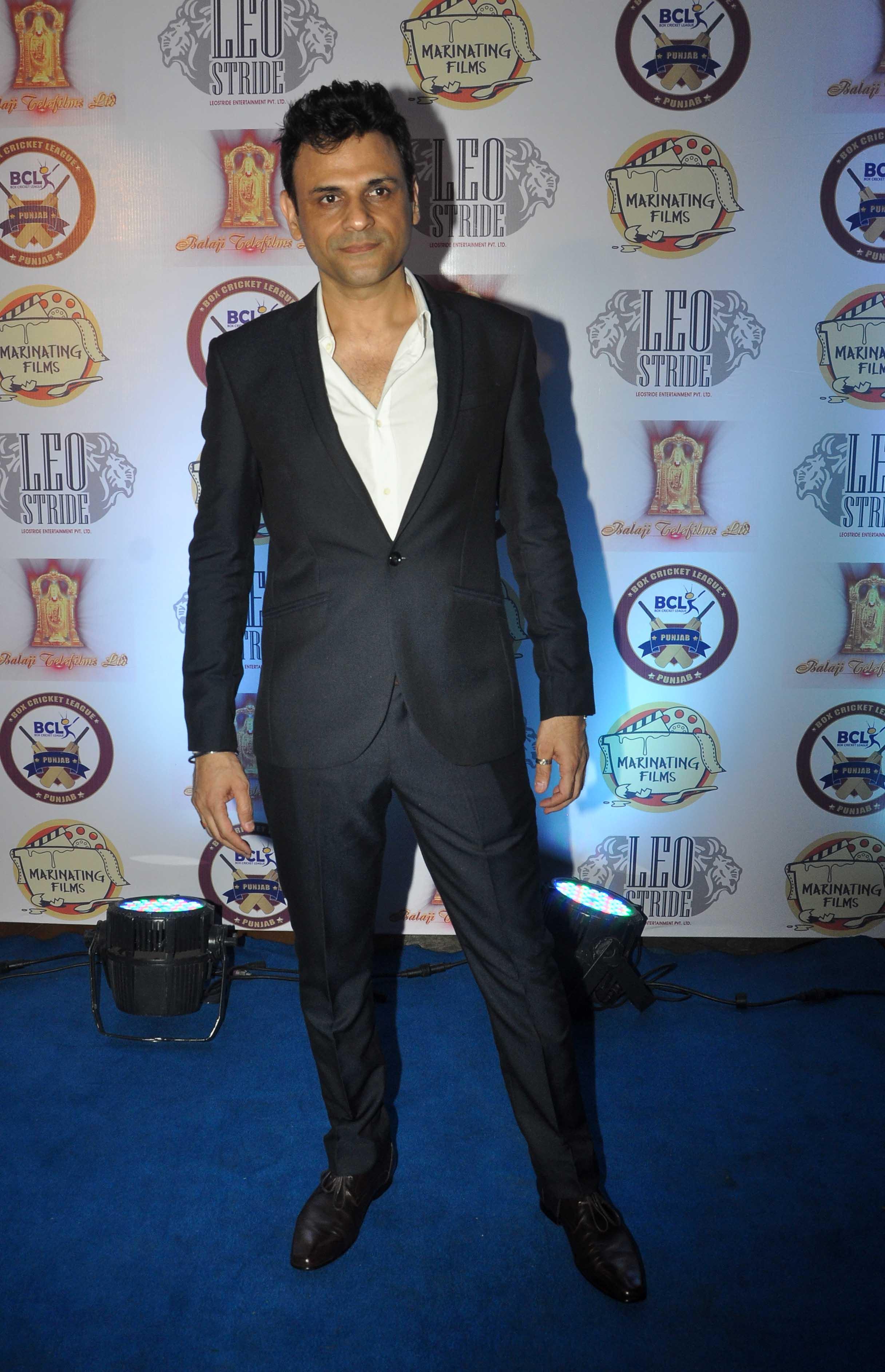 Sumit Dutt at Punjab Cricket Launch