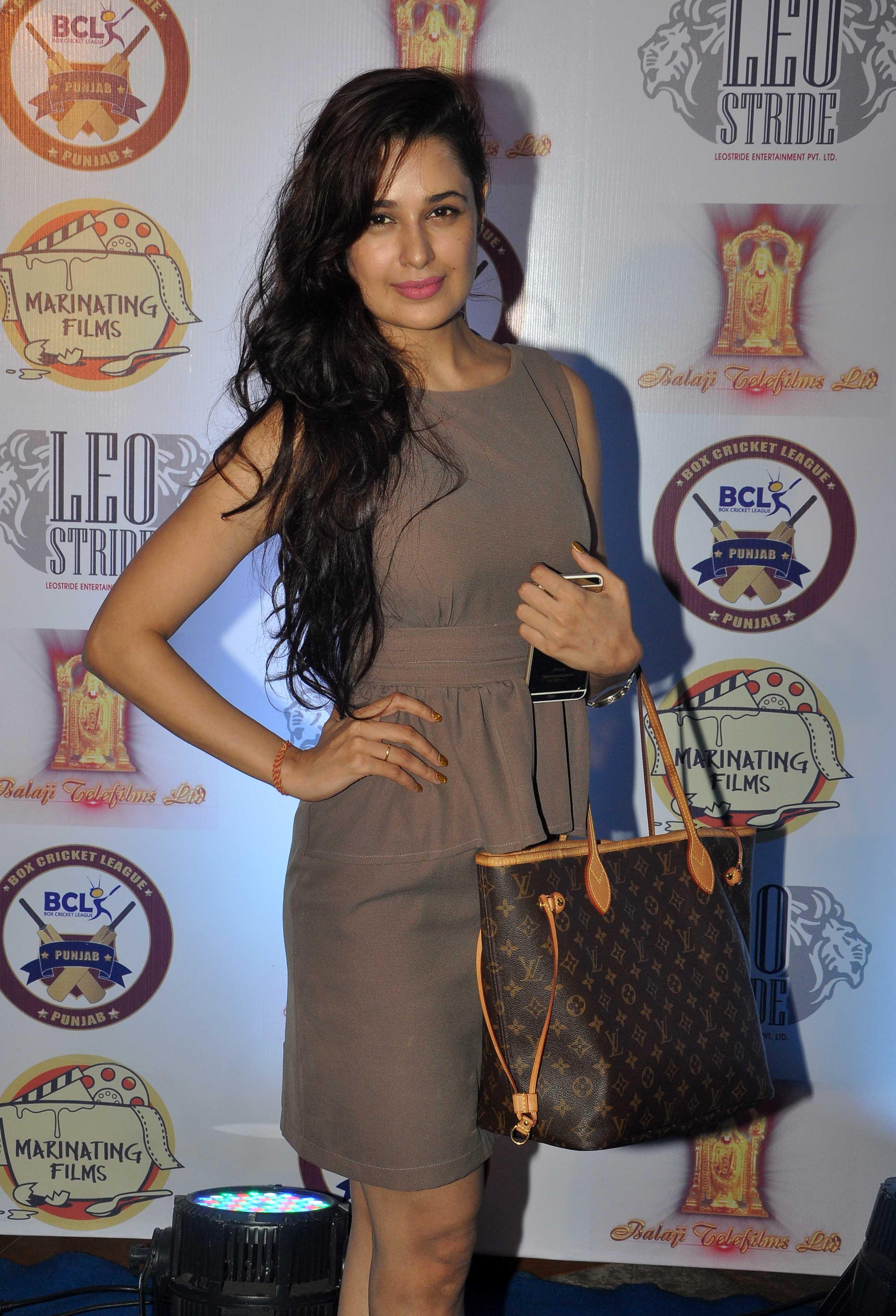 Yuvika Chaudhary Cricket Launch
