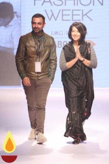 LFW WF 2015 - Mayank anand & Shraddha Nigam