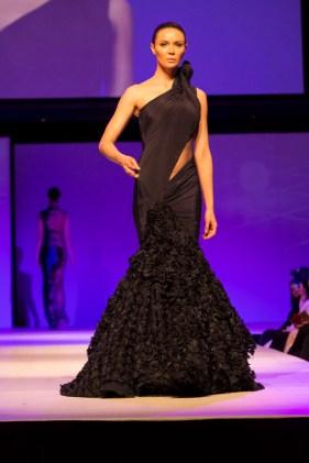A Model wearing Anamika Khanna and Gaurav Gupta at the fashion show at IFFm 2015 3