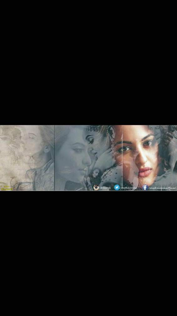 Collage made by Sonakshi's fan - Ishita Aggrawal