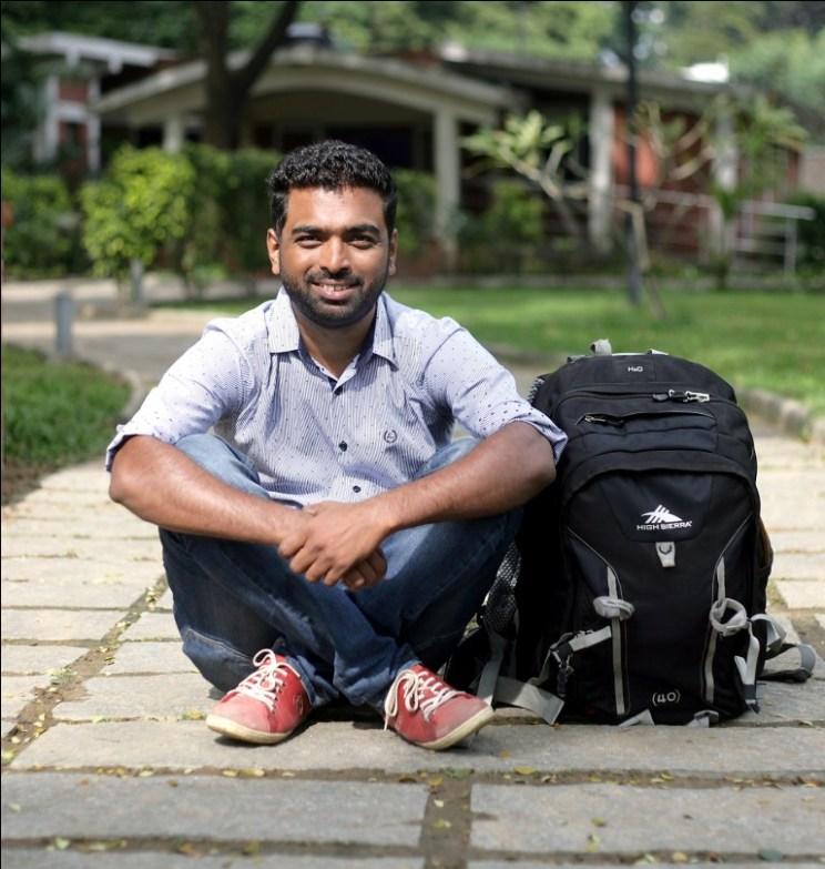 Profile Shots of sachin bhandary of the 12 project for Janani sampath story-Express/P.Ravikumar