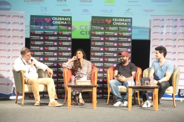 Athiya Shetty, Nikhil Advani,Sooraj Pancholi at Masterclass of Hero @Whistling Woods