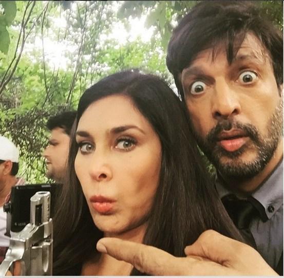Lisa Ray & Javed Jaffri