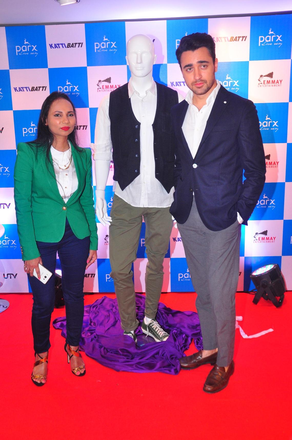 Imran Khan and Nikhil Advani launched 'Katti Batti' Collection