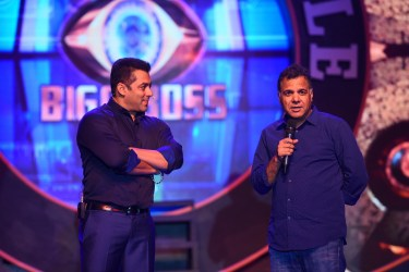 Salman Khan with Raj Nayak