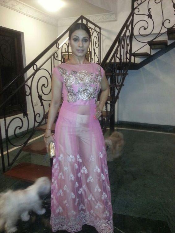 Tanishaa at Manish Malhotra