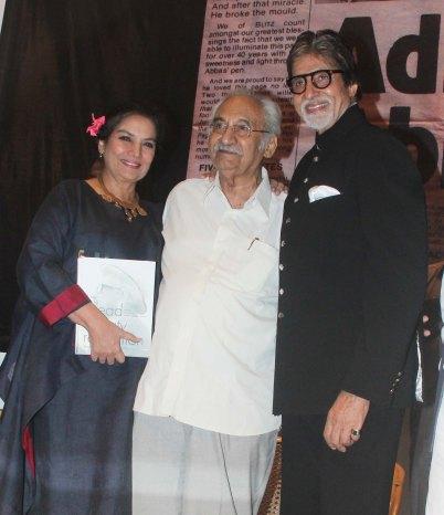 Shabana Aazmi and Amitabh Bachchan