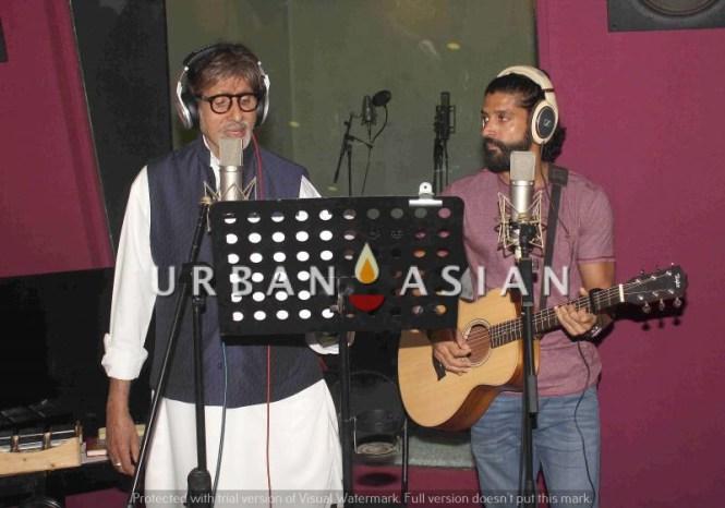 Amitabh Bachchan and Farhan Akthar, Wazir1