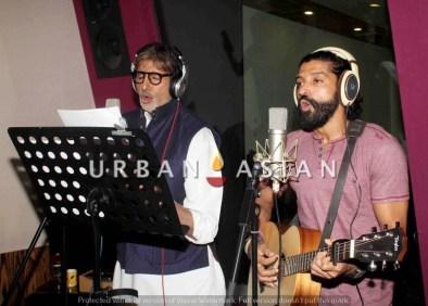 Amitabh Bachchan and Farhan Akthar, Wazir4