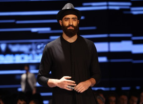 Model in Ujjawal Dubey on Day 2 of Van Heusen + GQ Fashion Nights (1)